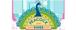 Peacock Loop Diner Logo