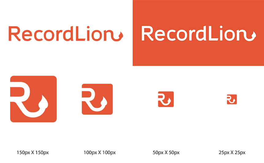 RecordLion Logo Comp