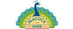 Peacock Loop Diner Logo